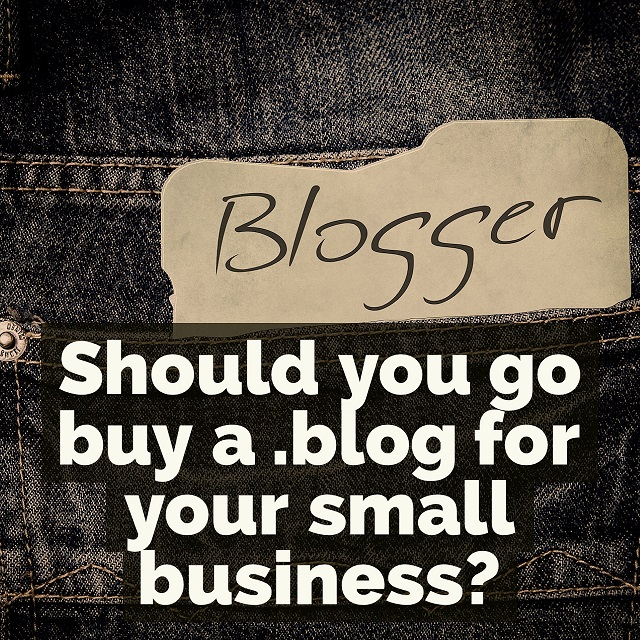 Should your small business have a .blog domain name?